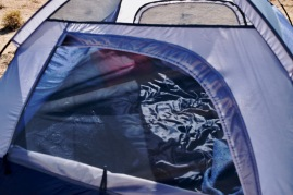 This tent lied about its size. I had to sleep diagonally!