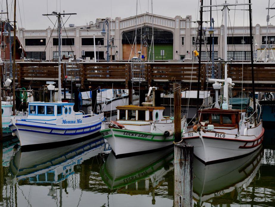 February Photo Walk Aquatic Park to Hyde St Pier to Pier 39 AndBack